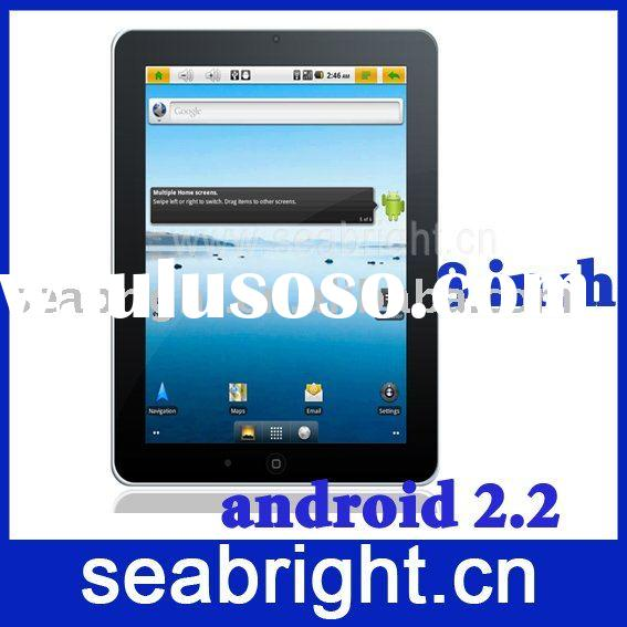 8 INCH android 2.2 tablet pc ( 2 Core processor two-piont touch screen 4000MAH MG8003)
