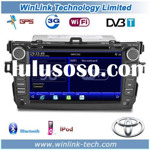 8 Inch Touch Screen Car DVD with Latest Wifi 3G function