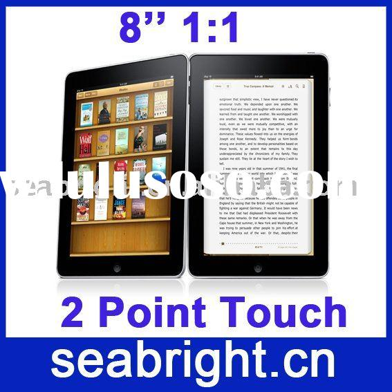 8 Inch portable pc 2 Core processor two-piont touch screen 4500MAH MG8001)