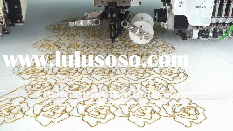 912 high speed coiling & sequin mixed embroidery machine
