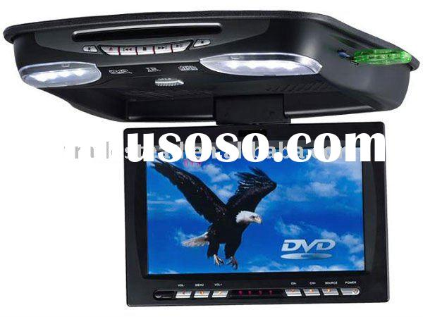 9.2 inches Super Slim TFT-LCD Roof Mounted all in One Car, DVD Player - TV - IR - USB &SD/MMC Sl