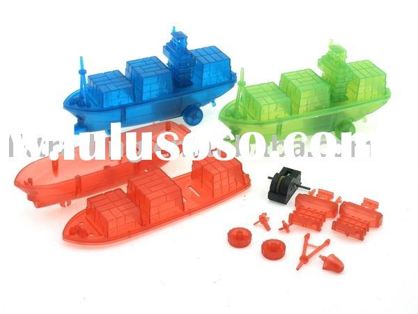 ABC-112112 DIY container ship,plastic container ship,toy ship,DIY toys,small toys,gifts,children toy