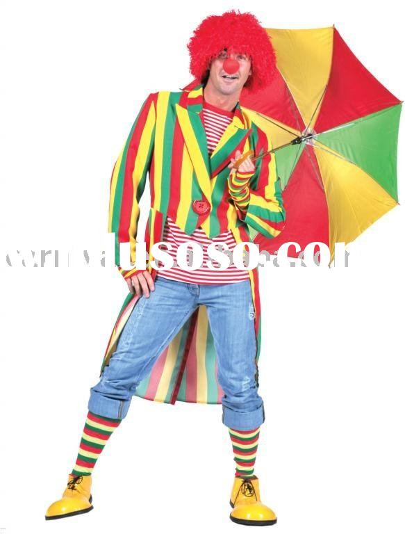 Adult Clown Jacket man costumes/halloween costume/carnival costume/costumes bsmc-0321