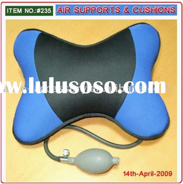 Air Inflatable Lumbar Support (Neck support cushion, adjustable back support, Air Inflatable Support