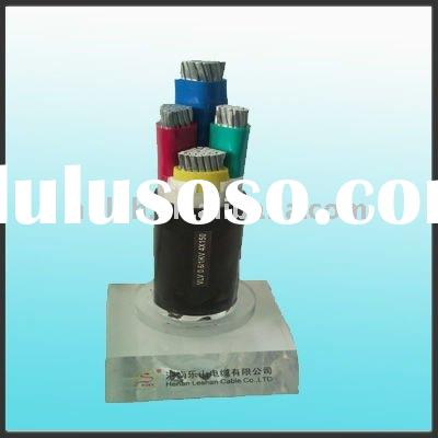 Aluminum conductor PVC Insulated underground Power Cable
