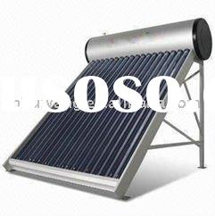 Aluminume allory pressurized solar water heater with heat pipe