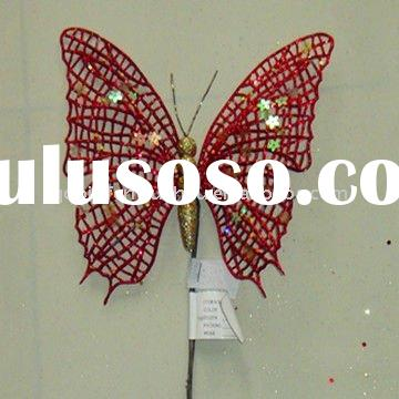 Artificial Crafts Butterflies For Christmas Tree Decoration