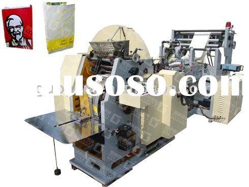 Automatic High Speed Food Paper Bag Machine