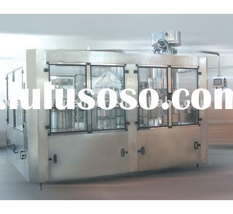 Automatic small bottle washing, filling and capping machine (3 in 1 )