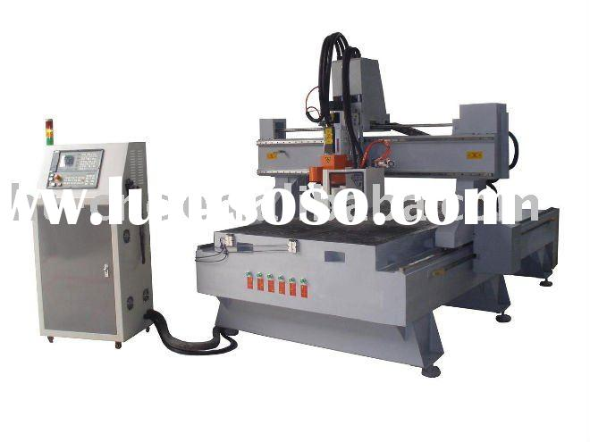 Automatic tools changer CNC router