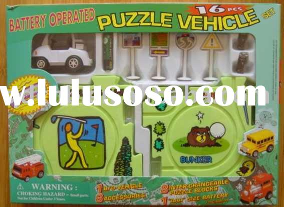 B/O Puzzle Vehicle Golf