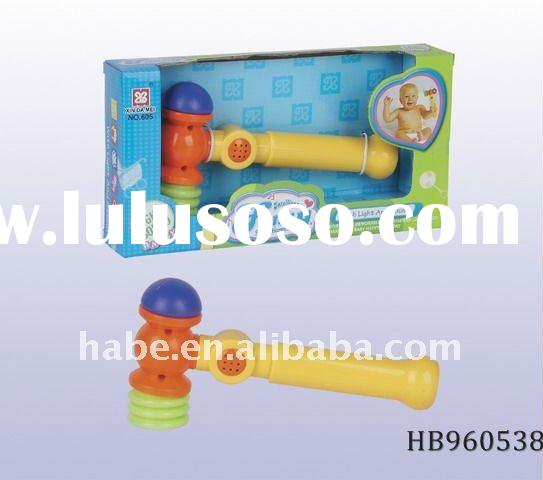 B/O clock with music, baby music toys