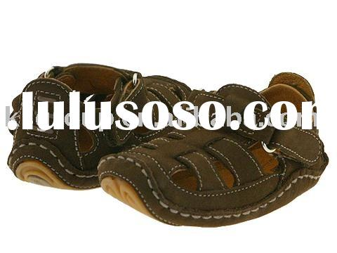 Baby leather sandal shoes