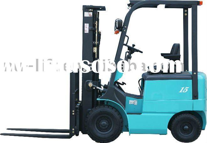 Balance Weight Type Electric Forklift Track