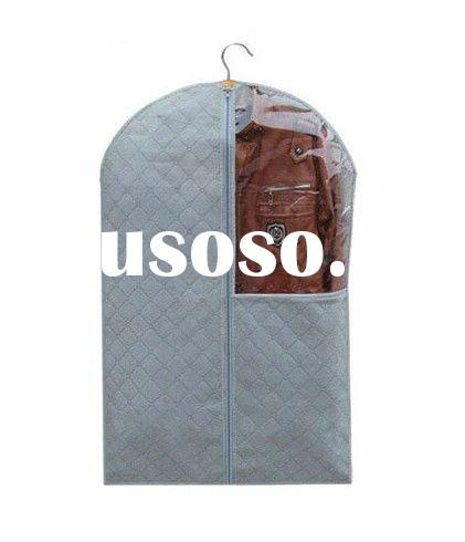 Bamboo Charcoal Fiber Dust-proof Suit Clothes Cover Garment Bag Protector(M)