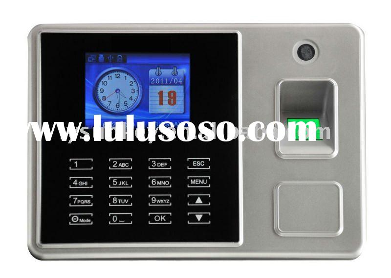 Biometric Time Recorder with TFT screen