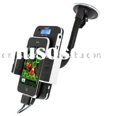 Bluetooth and FM TRANSMITTER CAR KIT with car charger