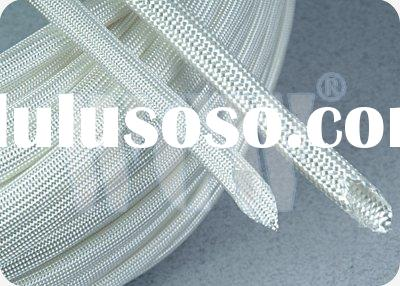 Braided Fiberglass Insulation Sleeve with High Temperature Resistance