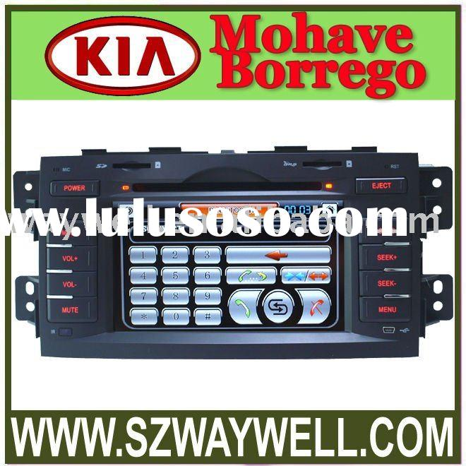 CAR DVD player /touch screen car dvd player with gps bluetooth fm am and tv For KIA Mohave BORREGO