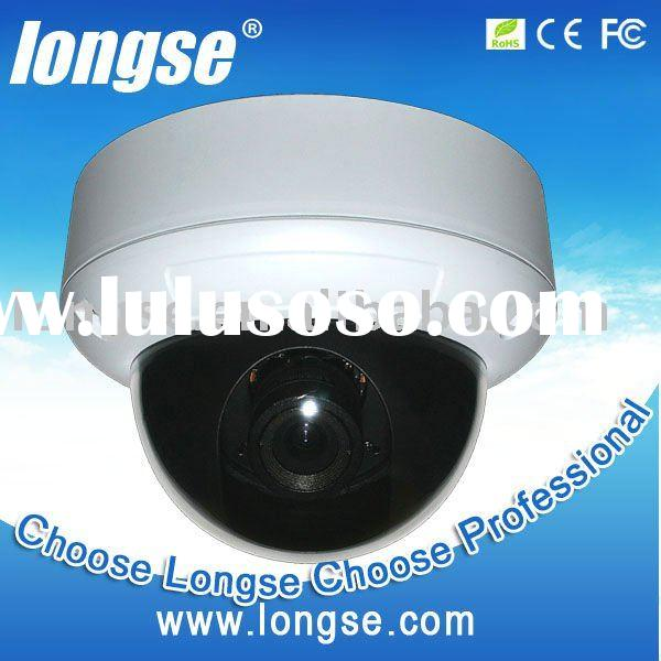 CCTV Vandalproof Dome Camera with Varifocal Lens