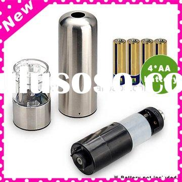 CE Economic Stainless Steel Electric Salt and Pepper Grinder,Pepper mill,manual papper&salt mill