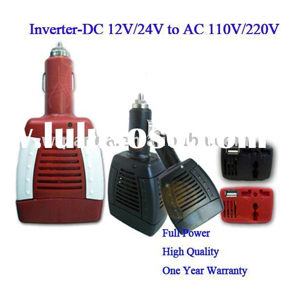 CE/RoHS Car Power Inverter with USB port 75W