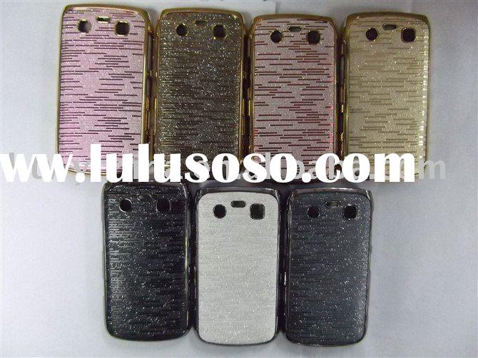 CHROME HARD CASE COVER FOR BLACKBERRY CURVE 9700
