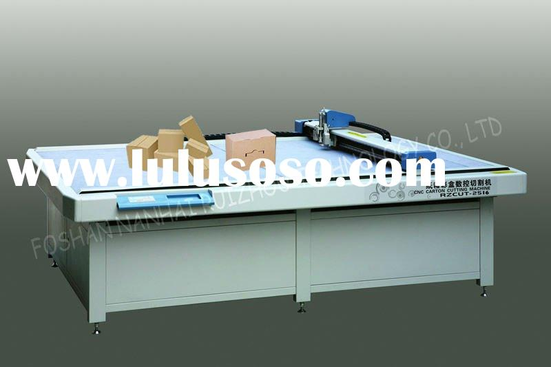 CNC Corrugated Paper Carton Cutting Table