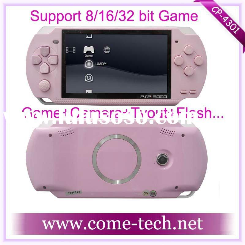 CP-4301(4.3 inch game player PMP MP5 MP4 MP3 Camera free mp4 player game download)