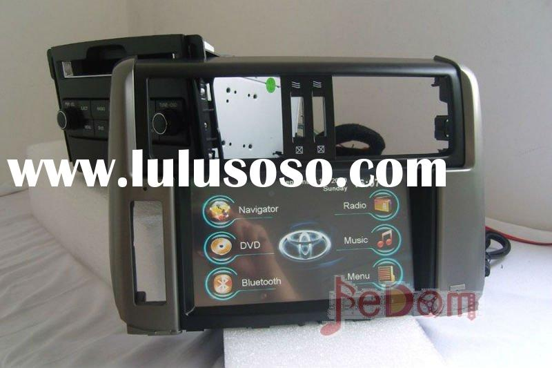 Car DVD GPS player, Bluetooth, Radio RDS, touch screen for Toyota Prado 150
