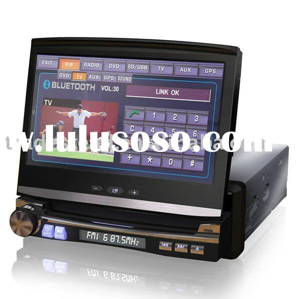 Car DVD Player - 7-inch Digital LCD Touch Screen - 800 x 480 of Resolution - 3D High-speed Drive Eng