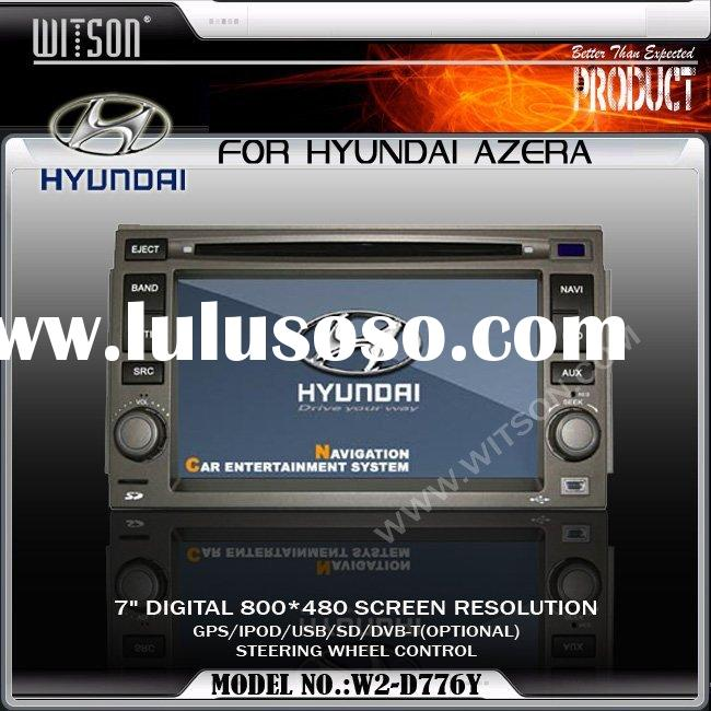 Car DVD Player WITSON Special Car DVD Player for HYUNDAI AZERA with GPS