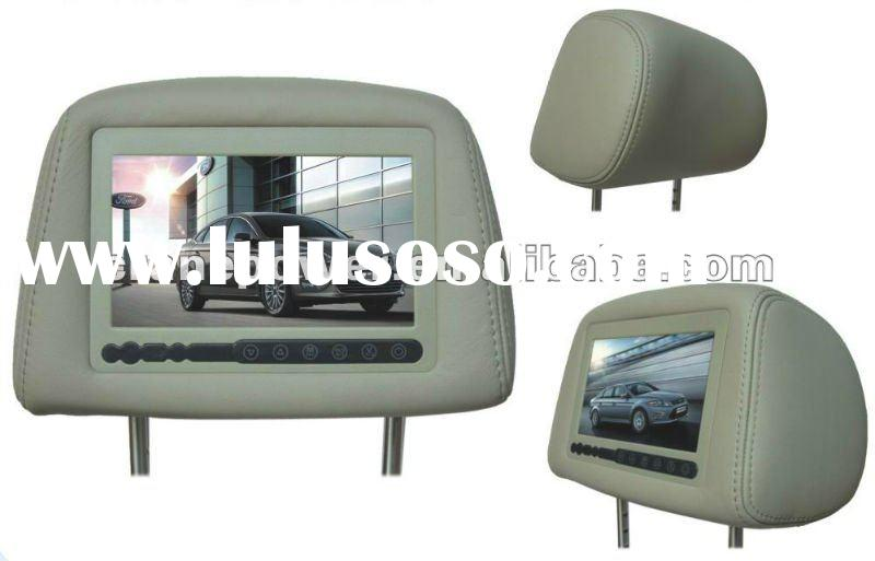 Car Headrest TFT Monitor with mp3,mp4,game function for FORD-MONDEO dvd