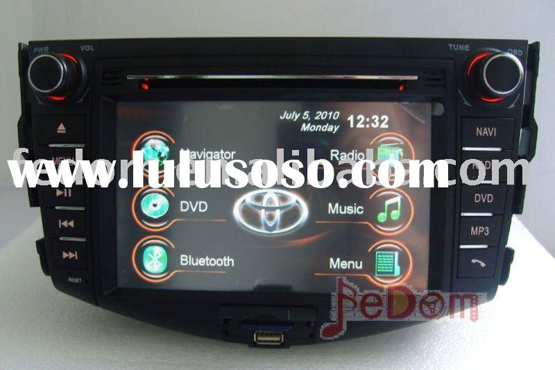 Car audio DVD player bluetooth iPod MP3/MP4 for Toyota RAV4