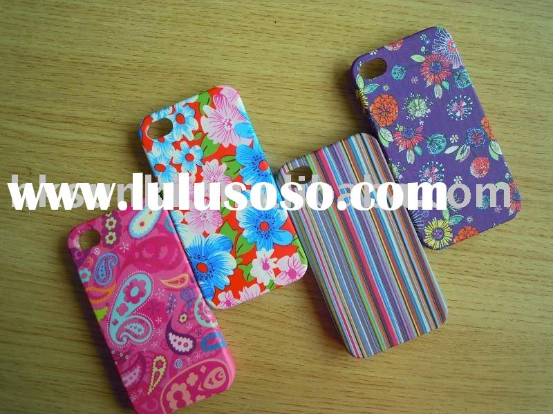 Cell phone accessories/For iphone 4case r /your design printed case iphone