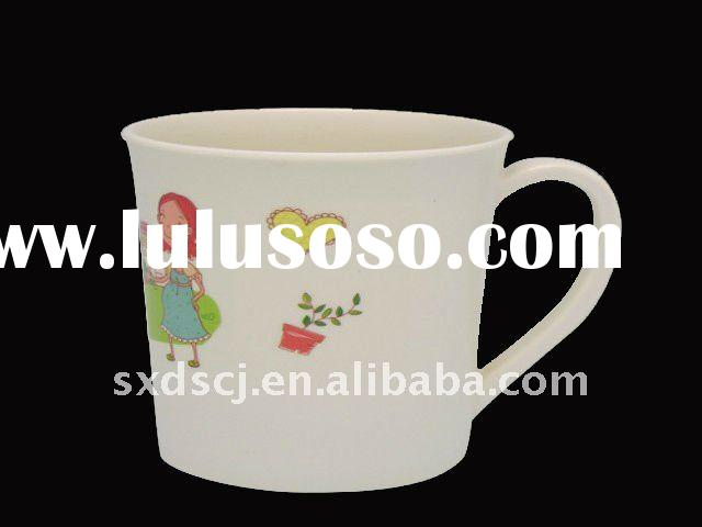 Cheap Plastic Tea Cup With Handle