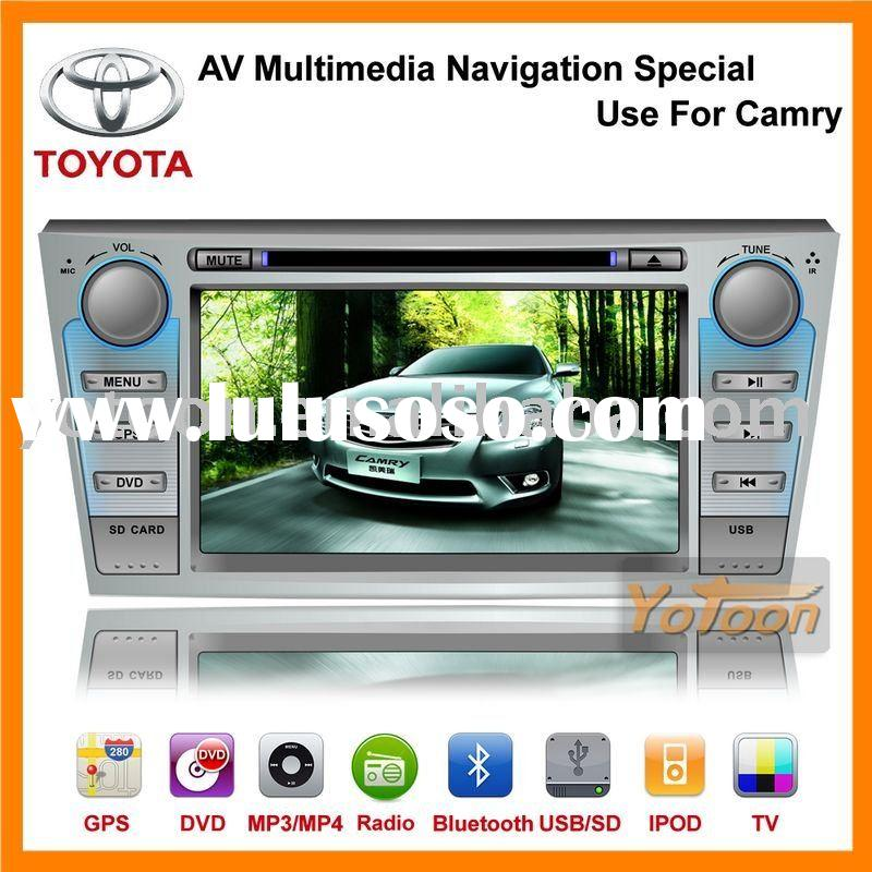 China Brand YOTOON Newest AV Multimedia car gps navigation system 7 inch Special Use for CAMRY