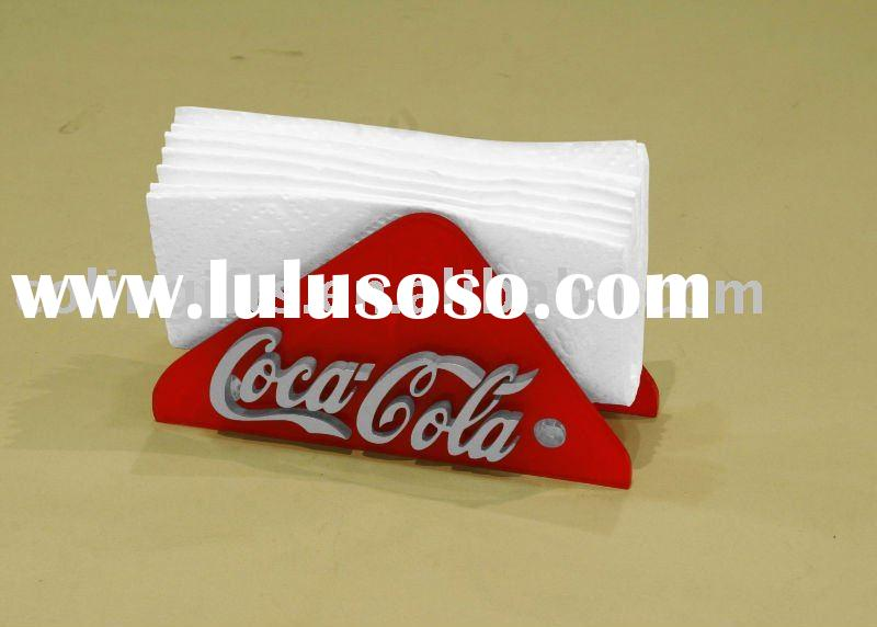 Coca Cola Acrylic Napkin Holder