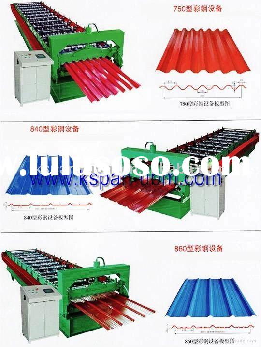 Cold Roof Panel Roll Forming Machine