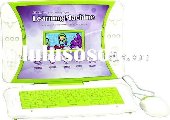 Colour Animated kids laptop learning machine