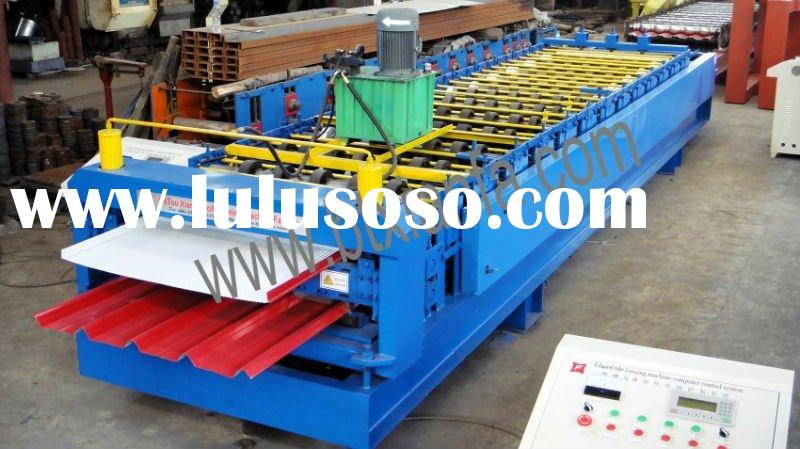 Composite board Double deck roof tile forming machine XF1000/1000
