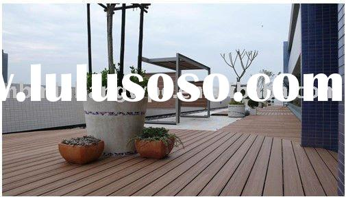 Composite ourdoor Solid Deckings flooring/Rustic WPC composite decking for pool or garden