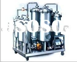 Cook Oil Biodiesel Oil Purification Recycling Plants With Vacuum Pump and Infrared System