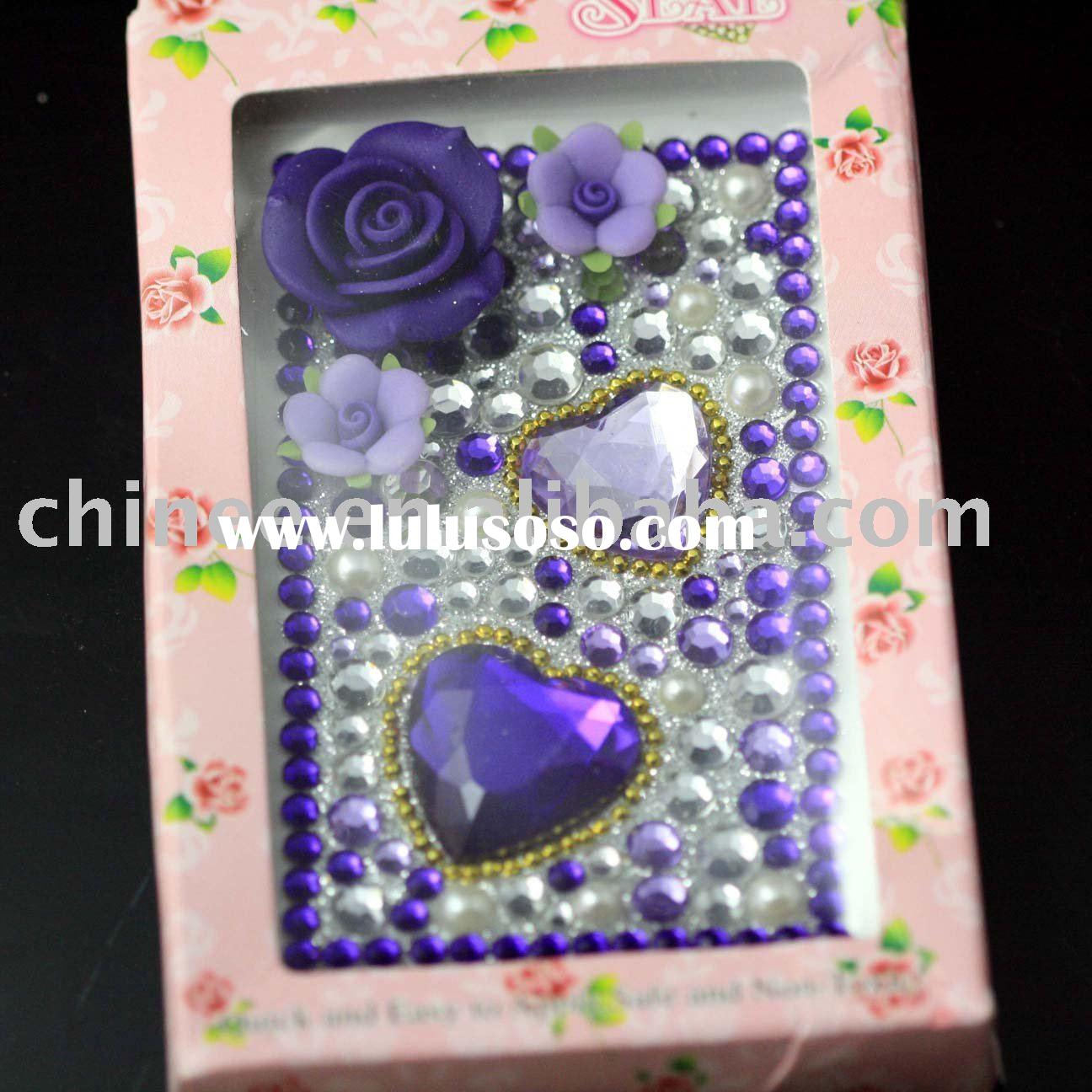 Crystal Sticker for Cell Phone
