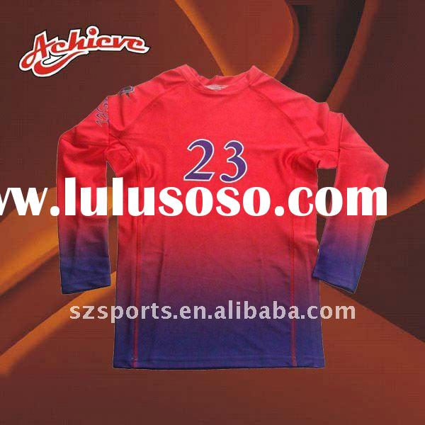 Custom sublimated volleyball jerseys