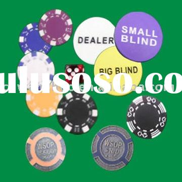 Dealer Button And Other Accessories,PLAYING CARDS,CARD SHOE,AUTOMATIC CARD SHUFFLE,GAMBLING MAT,POKE