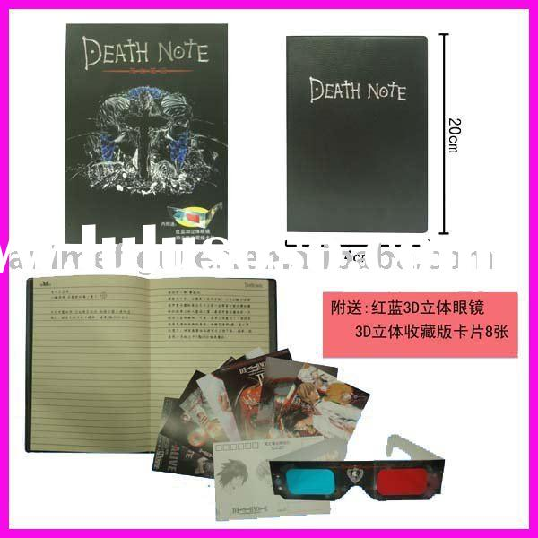 Death Note anime accessories