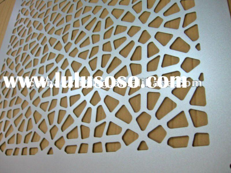 Decorative exterior wall design material/special building decoration (ISO9001,CE)