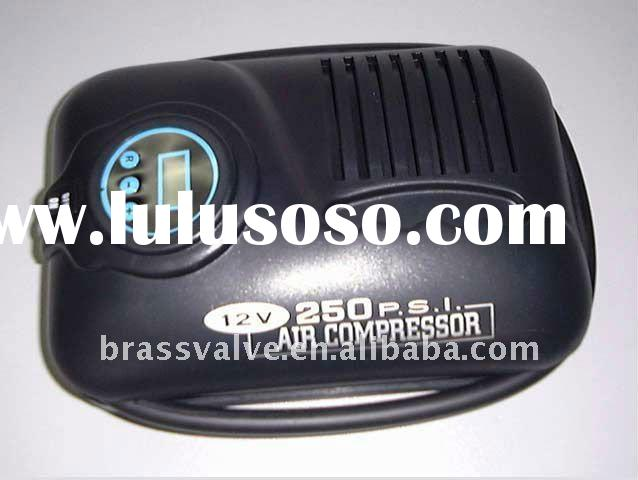 Digital 100PSI Mini Air Compressor as Car Tyre Inflator with auto stop function