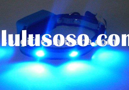 Disco LED light pet collar & flashing dog collars & pet leashes,new arrivel,SBS-C086